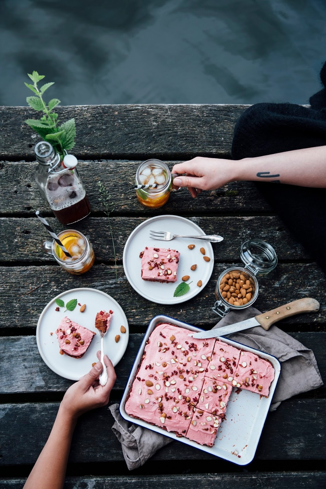 Gluten-free Beetroot Cake with Date Sugar & a Trip to the Lake