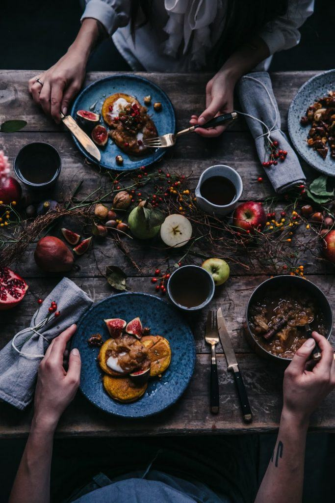 Image for Gluten-free Pumpkin Pancakes and an Autumn Gathering with Eva and Christiann at our Studio