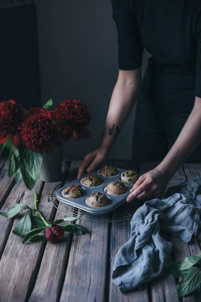 Image for Gluten-free Pumpkinseed-Bluberry Muffins