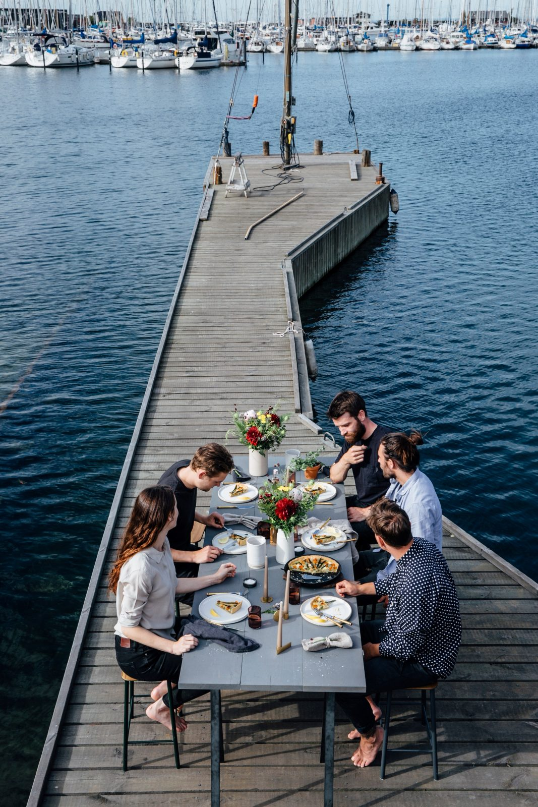 Copenhagen Harbour Gathering + a Give Away of our Book 'Dialogues'