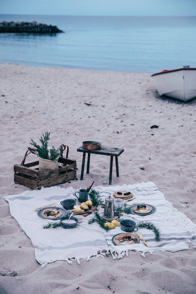 Image for A beach picnic in Denmark – gluten-free crêpes with caramelized pears