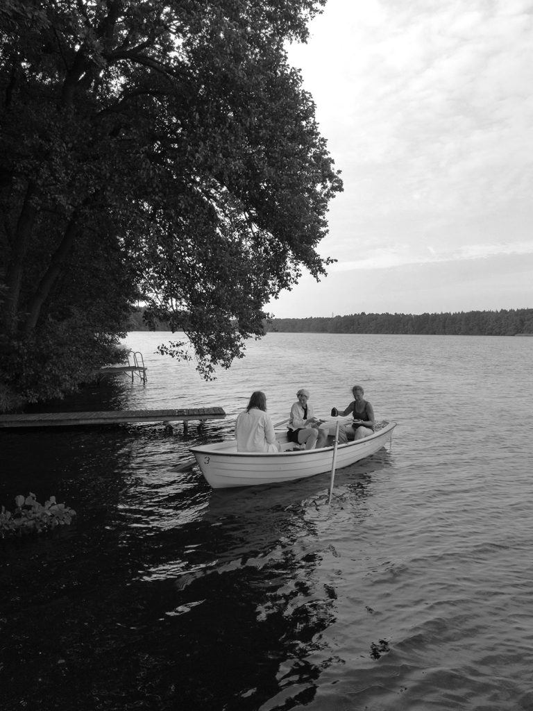 Image for Gluten-free Pumpkin Pear Cake at the Lake in a Rowboat