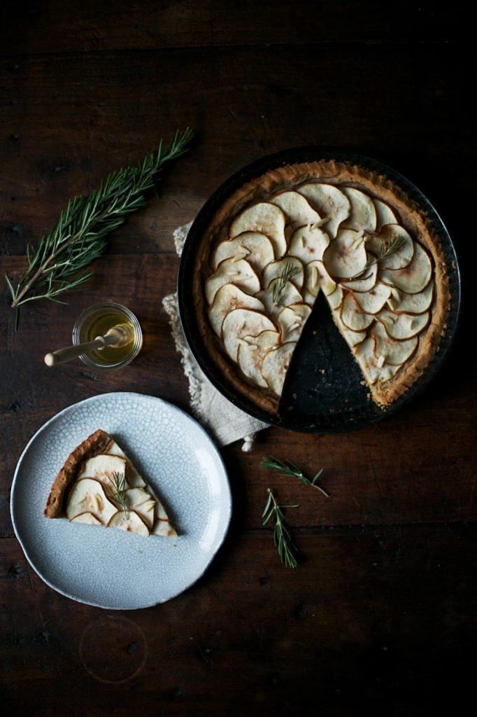 Image for Gluten-free Pear-Tart with Rosemary and Honey