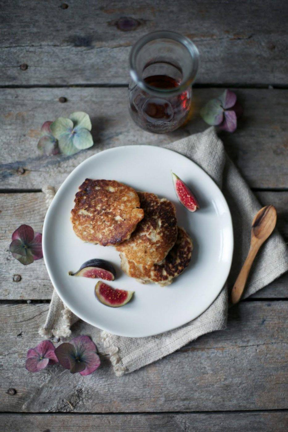 Image for Gluten-free and vegan Banana Pancakes