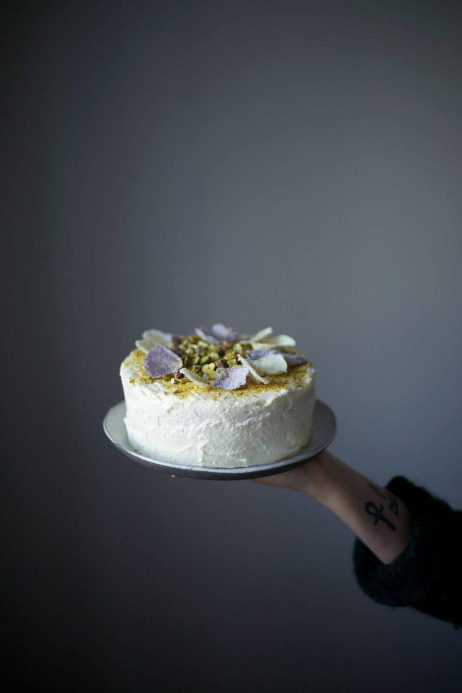 Image for Gluten-free Pistachio Rose Cake