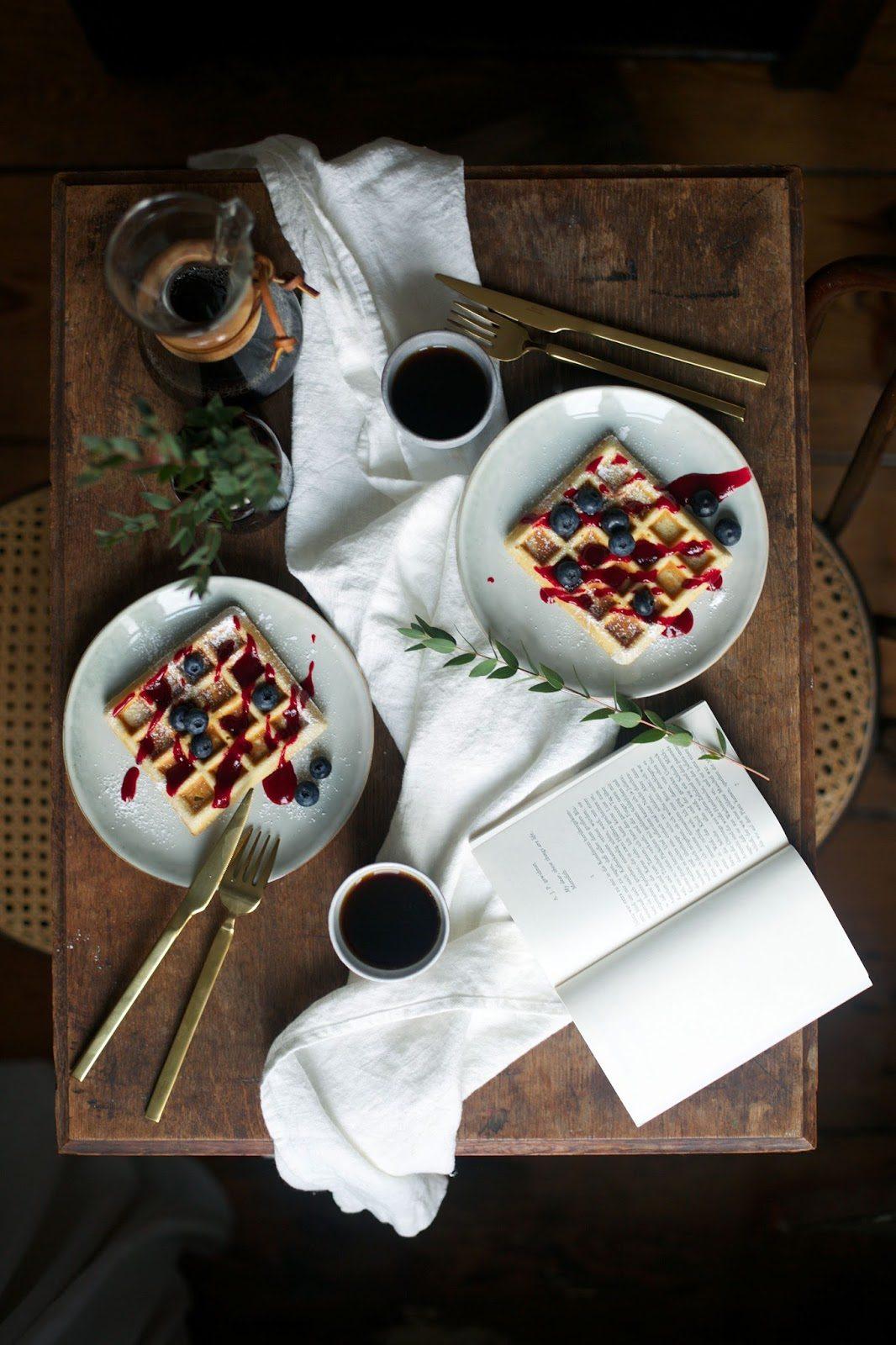 Gluten-free Ginger & Cardamom Waffles
