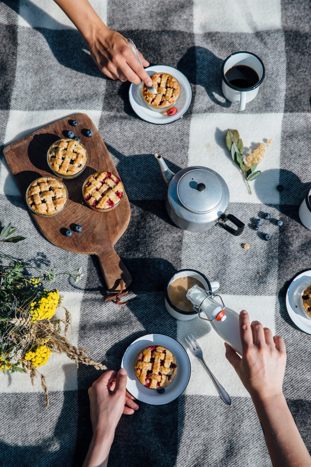 Gluten-free Mini Pies and a Picnic at the Lake