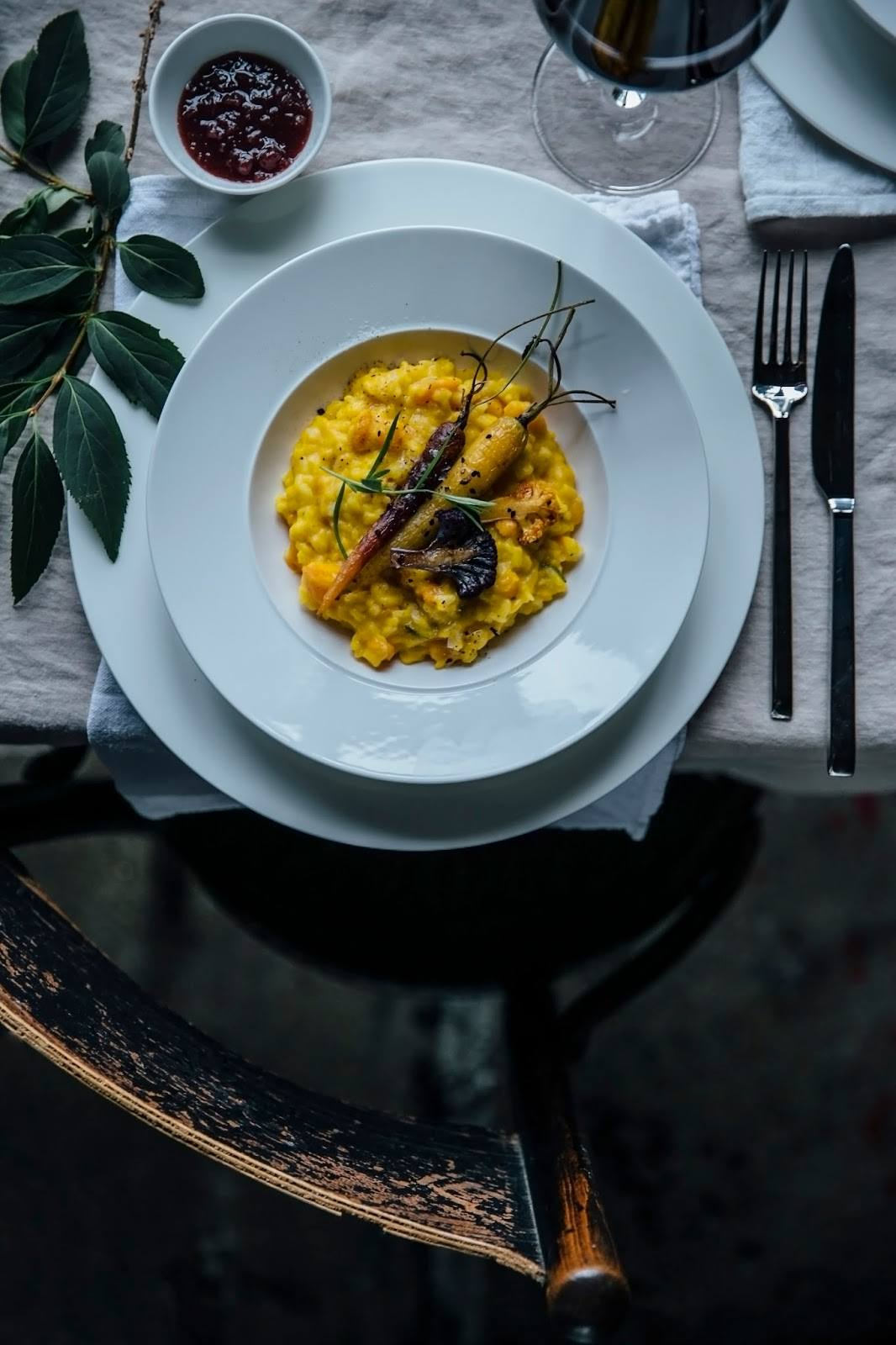 Pumpkin-Risotto with caramelized Carrots and Cauliflowers: our third Gathering for Villeroy&Boch