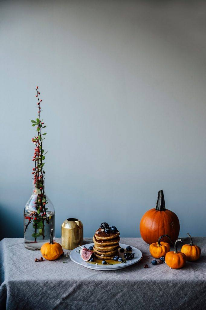 Image for Gluten-free Pumpkin Pancakes, a gluten-free Pear-Lingonberry Cake & a Day in the Electrolux grandcuisine Kitchen in Stockholm