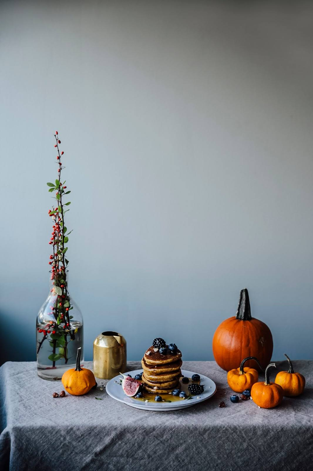 Gluten-free Pumpkin Pancakes, a gluten-free Pear-Lingonberry Cake & a Day in the Electrolux grandcuisine Kitchen in Stockholm
