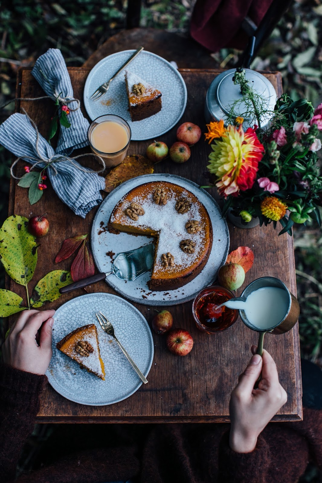 Gluten-free Pumpkin Cheesecake & the gluten-free Feel Good Box from Schär