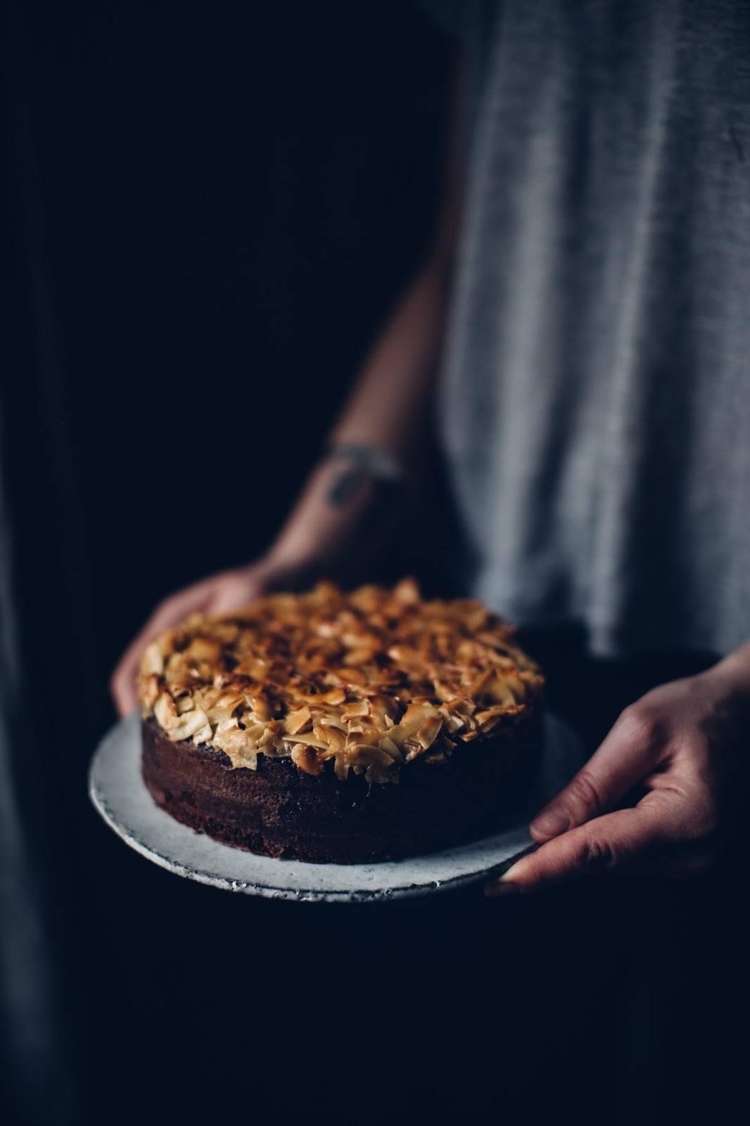 Gluten-free Coconut-Poppy-Seed Cake