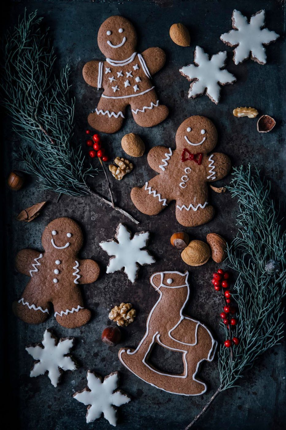 Image for Gluten-free Chai Snowflakes & gluten-free Gingerbread Cookies
