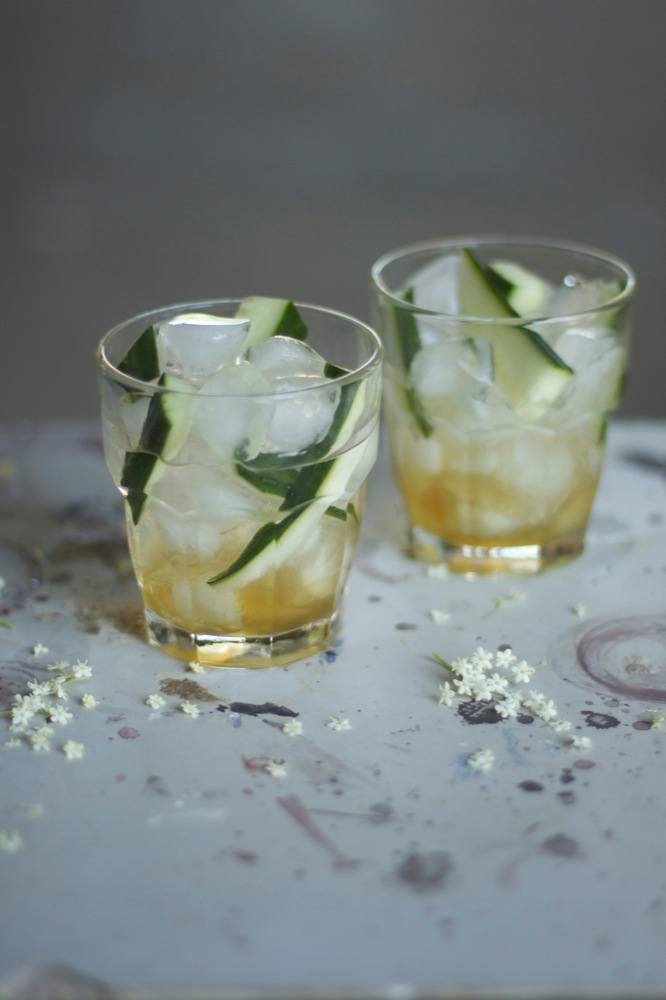 Cucumber Ginger Drink
