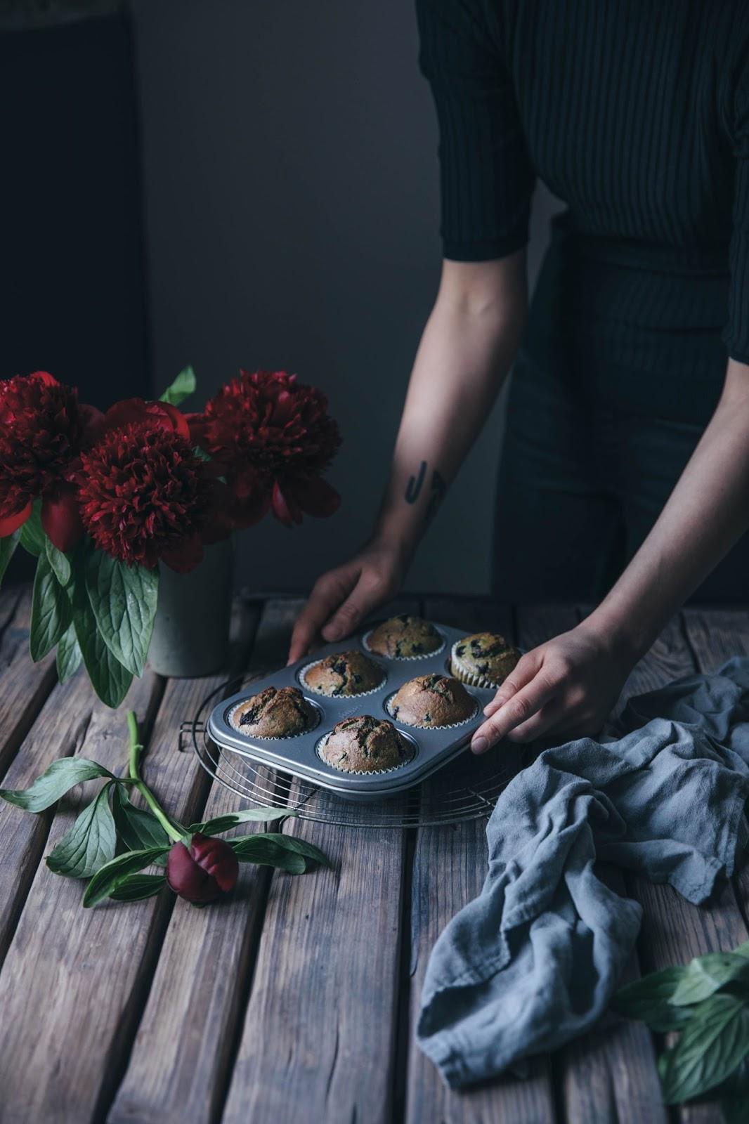Gluten-free Pumpkinseed-Bluberry Muffins