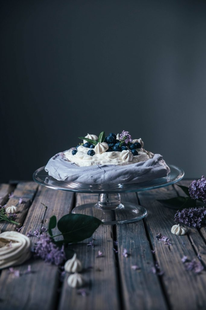 Image for Gluten-free Blueberry Pavlova & Blueberry Banana Ice-Cream