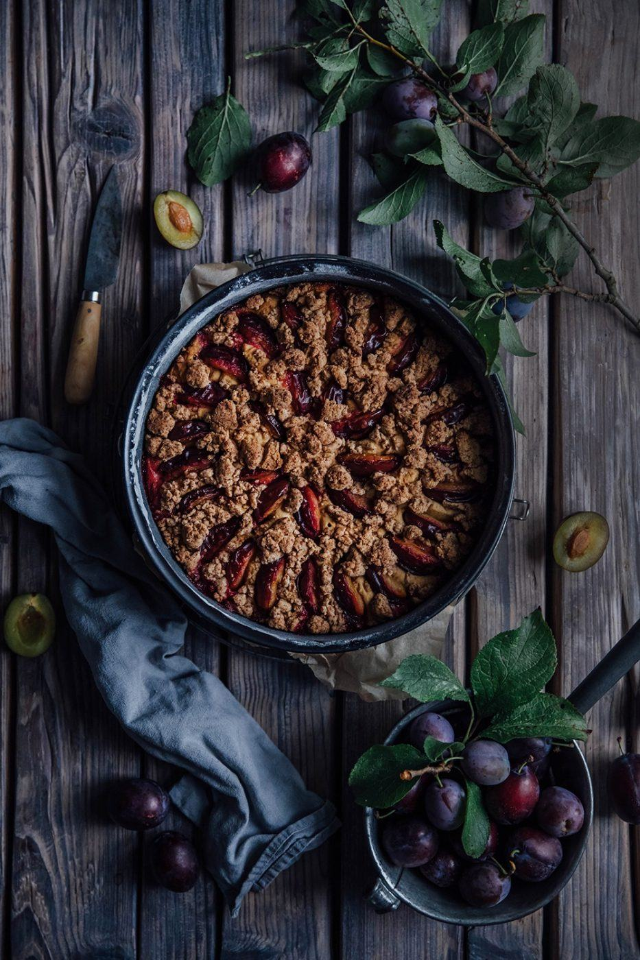 Image for Gluten-free Plum Crumb Cake with Coconut Blossom Sugar