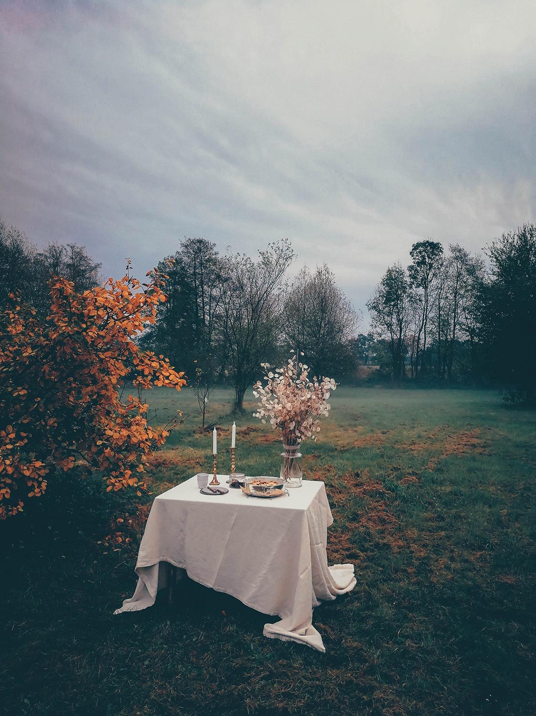 autumn table garden
