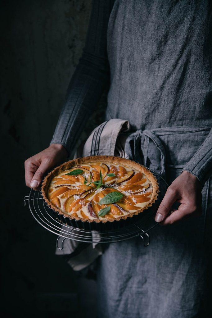 Image for Gluten-free Apricot-Peach Tart and a Give-Away with Paper & Tea