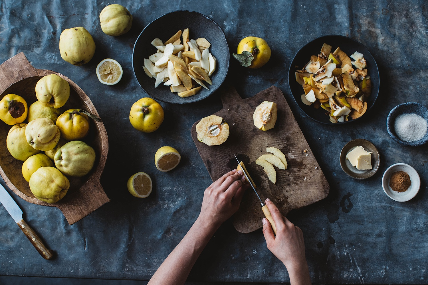 how to bake with quinces