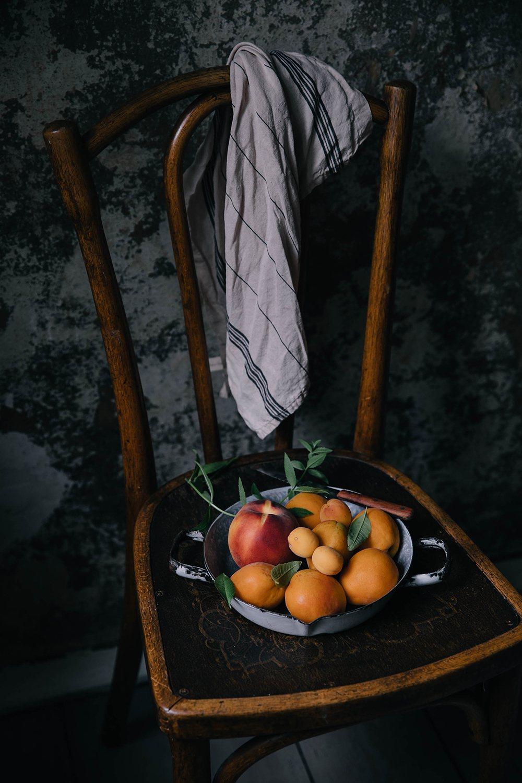 apricot peach tart