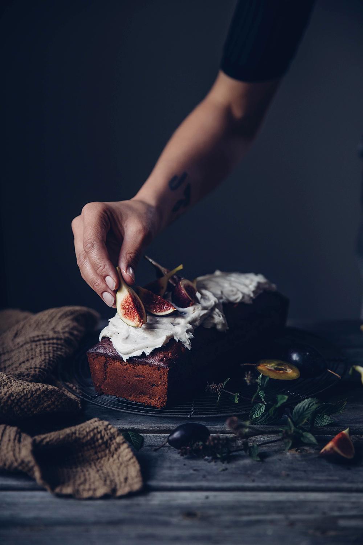 gluten-free carrot fig cake