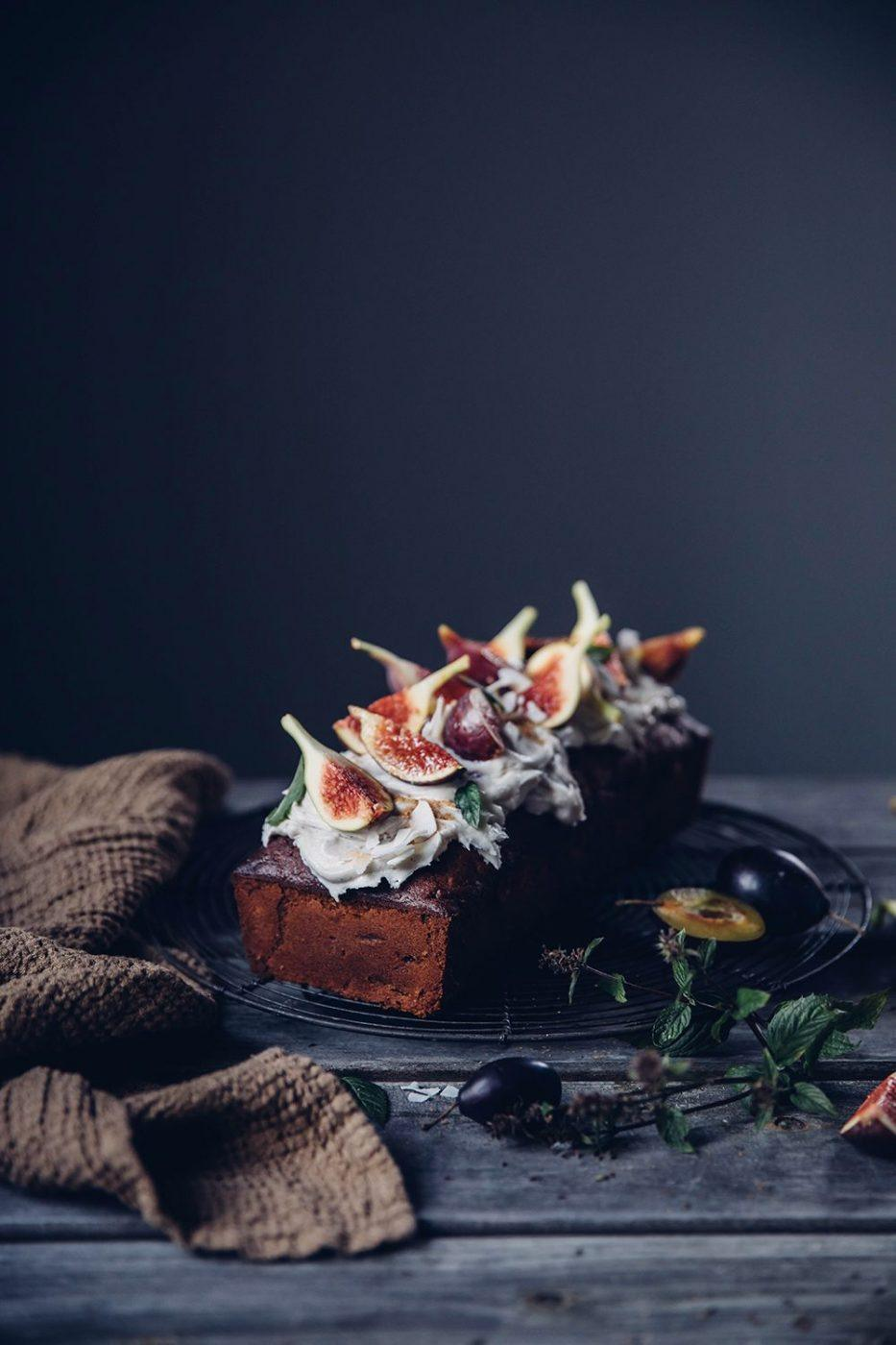 Image for Gluten-free Carrot Fig Cake with Cream Cheese Frosting