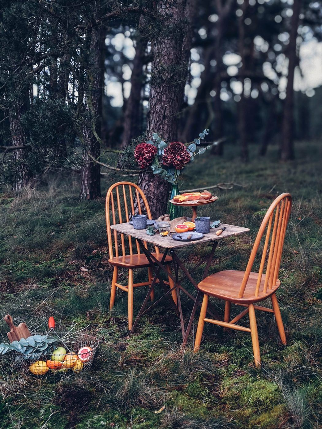 Image for Gluten-free Citrus Cardamom Cake and an Afternoon in the Woods