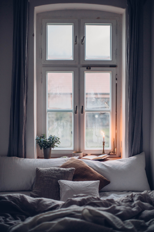 Cozy bed linen