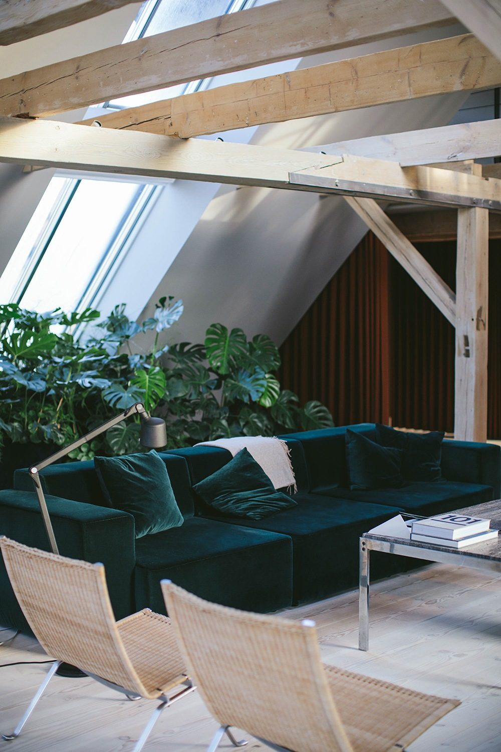 a weekend at the stunning vipp loft in copenhagen our food stories. Black Bedroom Furniture Sets. Home Design Ideas