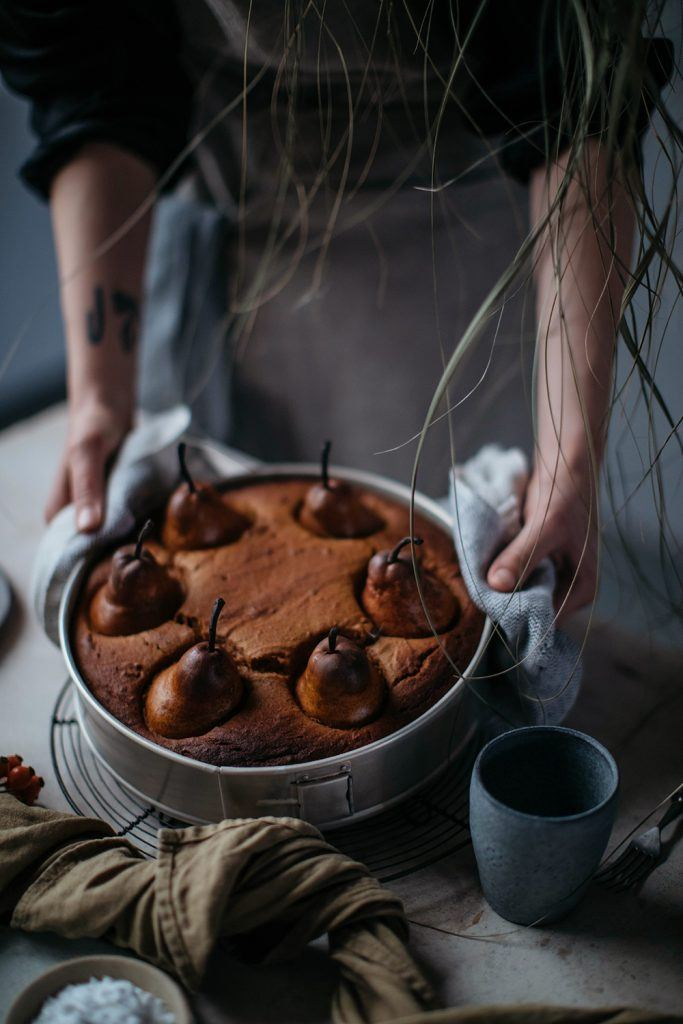how to make a gluten-free pumpkin cake