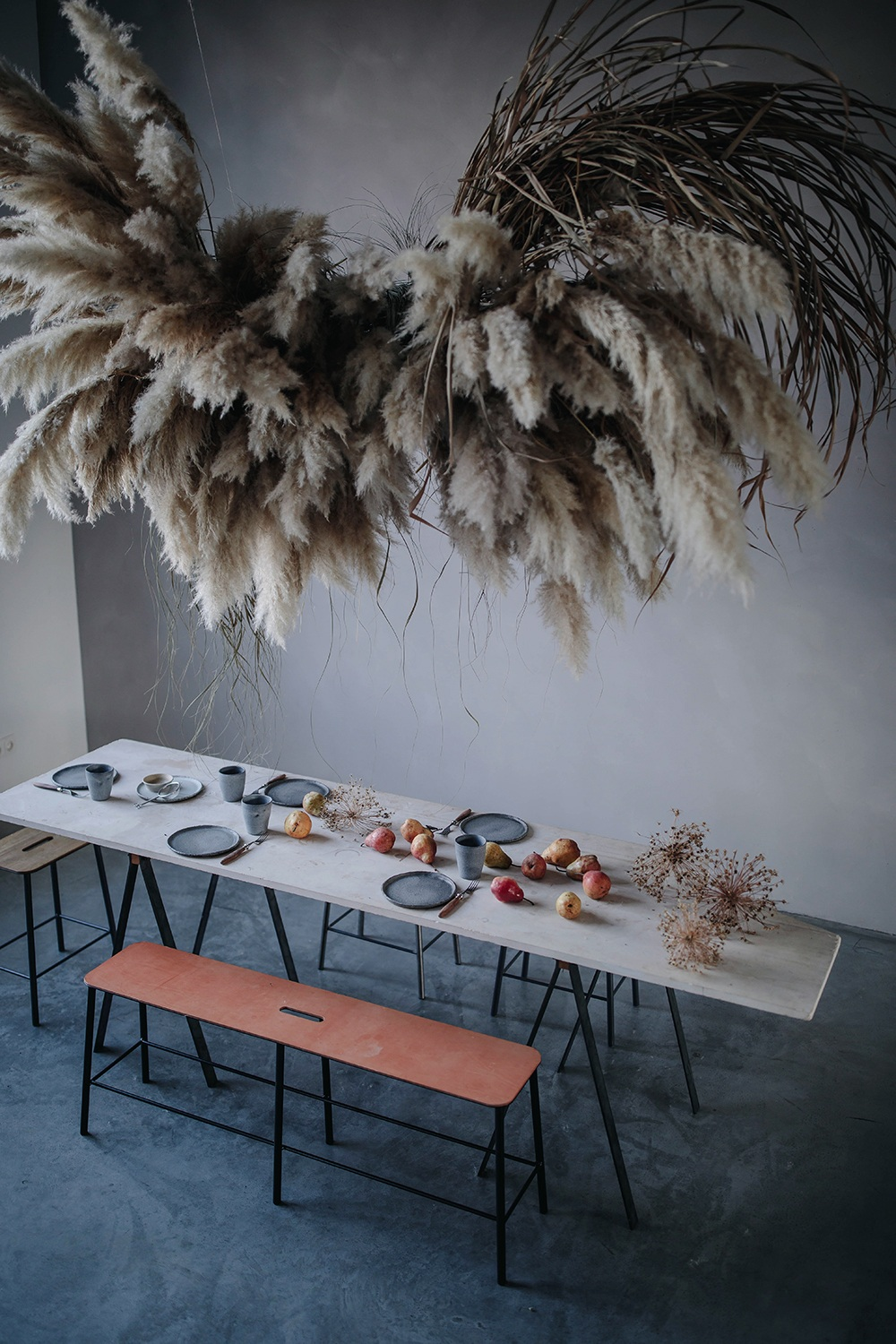 our food stories studio table styling