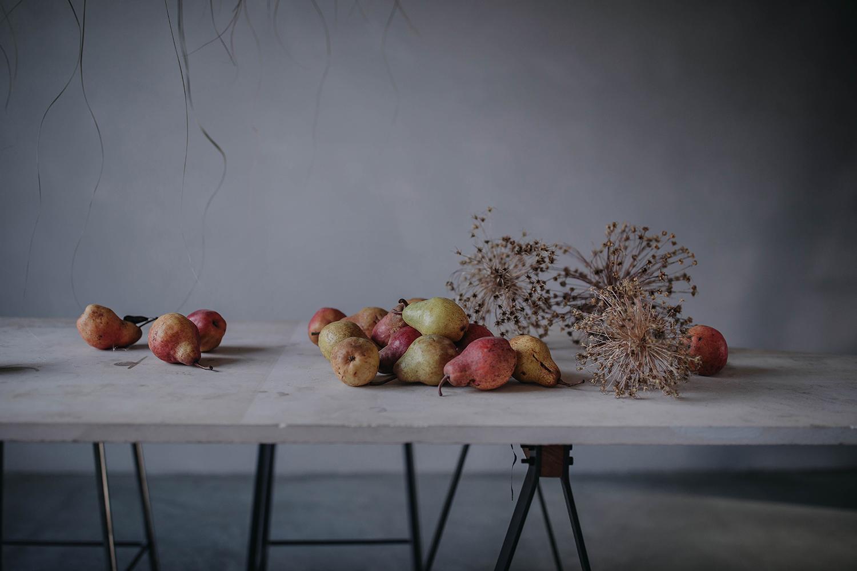 pear stilllife photography