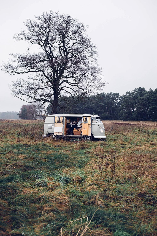 Road Trip vintage car