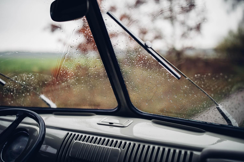 interior vintage car