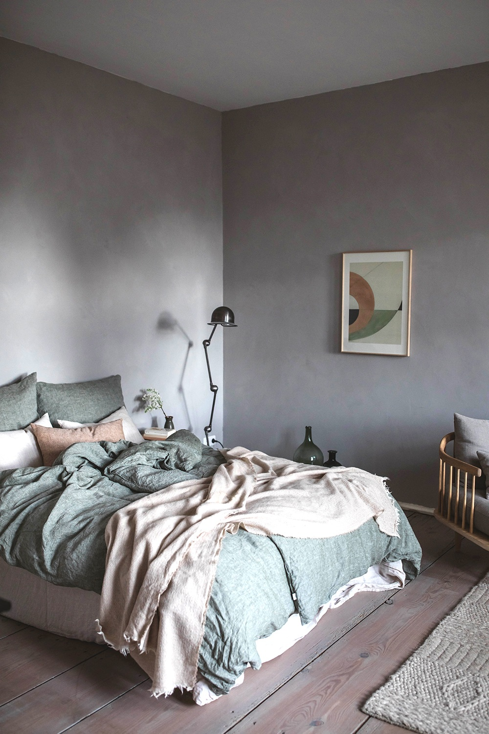 Bed- and Living Room Make-Over in the Countryside