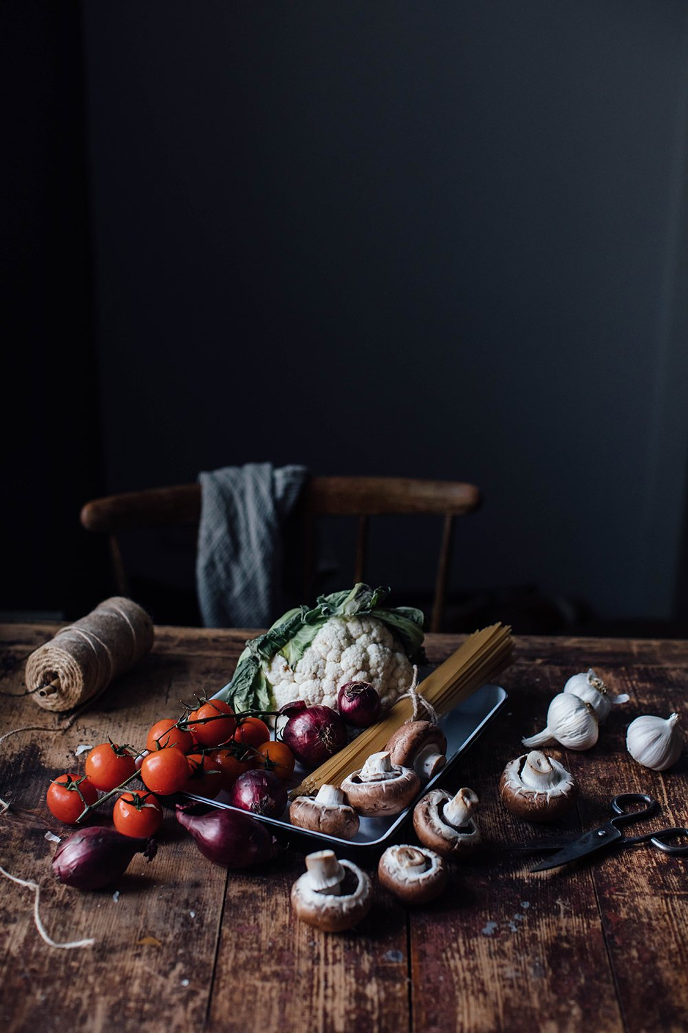 Stillife with vegetables