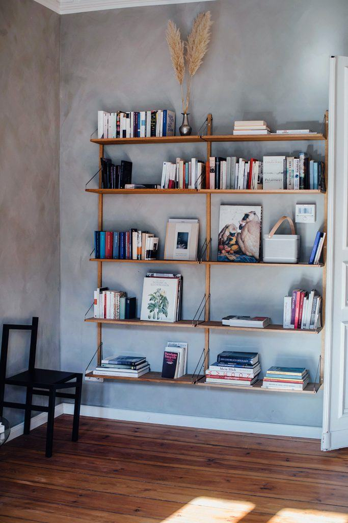 Hanging Wall Book Shelf