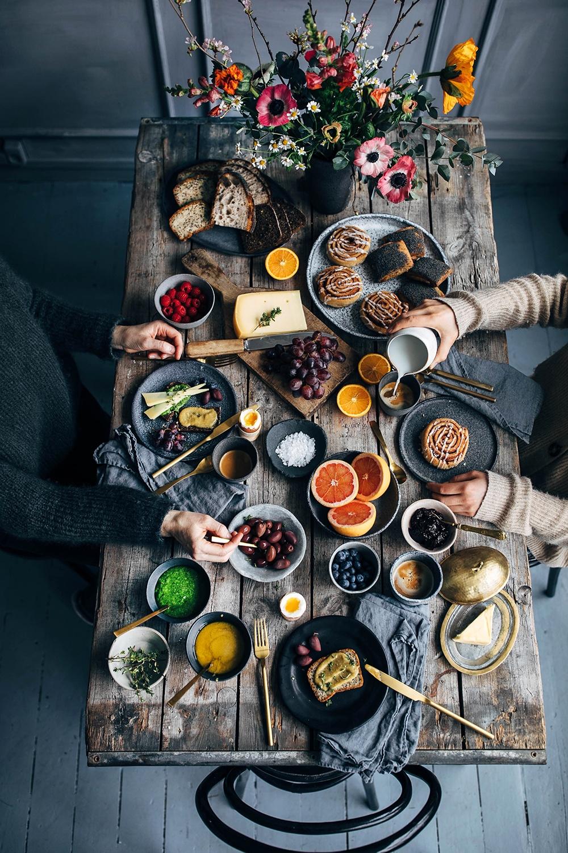 Breakfast Gathering at Signe Bay's Studio in Copenhagen