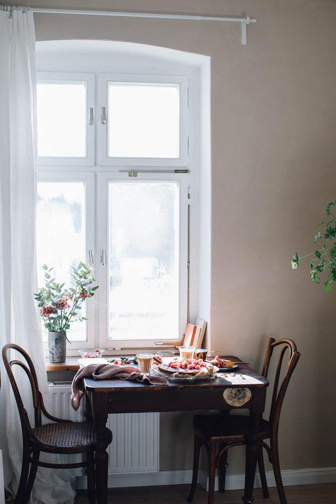 breakfast rustic style