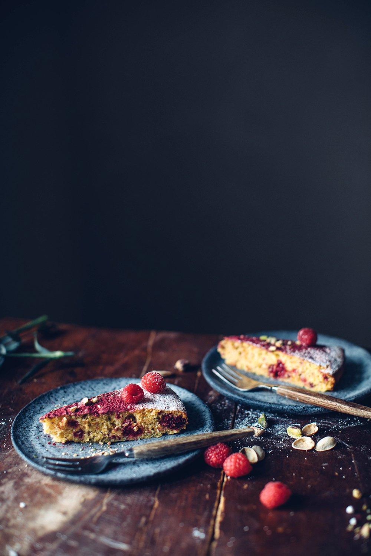 gluten-free polenta cake