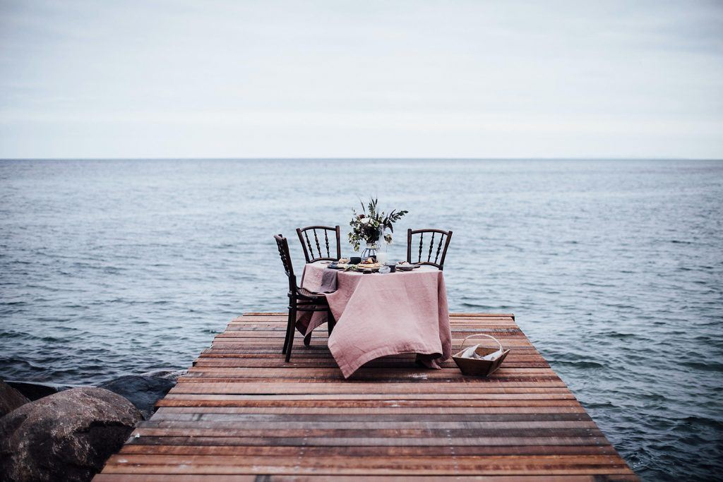Image for Gluten-free Poppy Seed Buns & A Magical Table Setting at the Sea