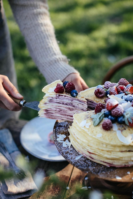 Gluten-free Crêpe Cake