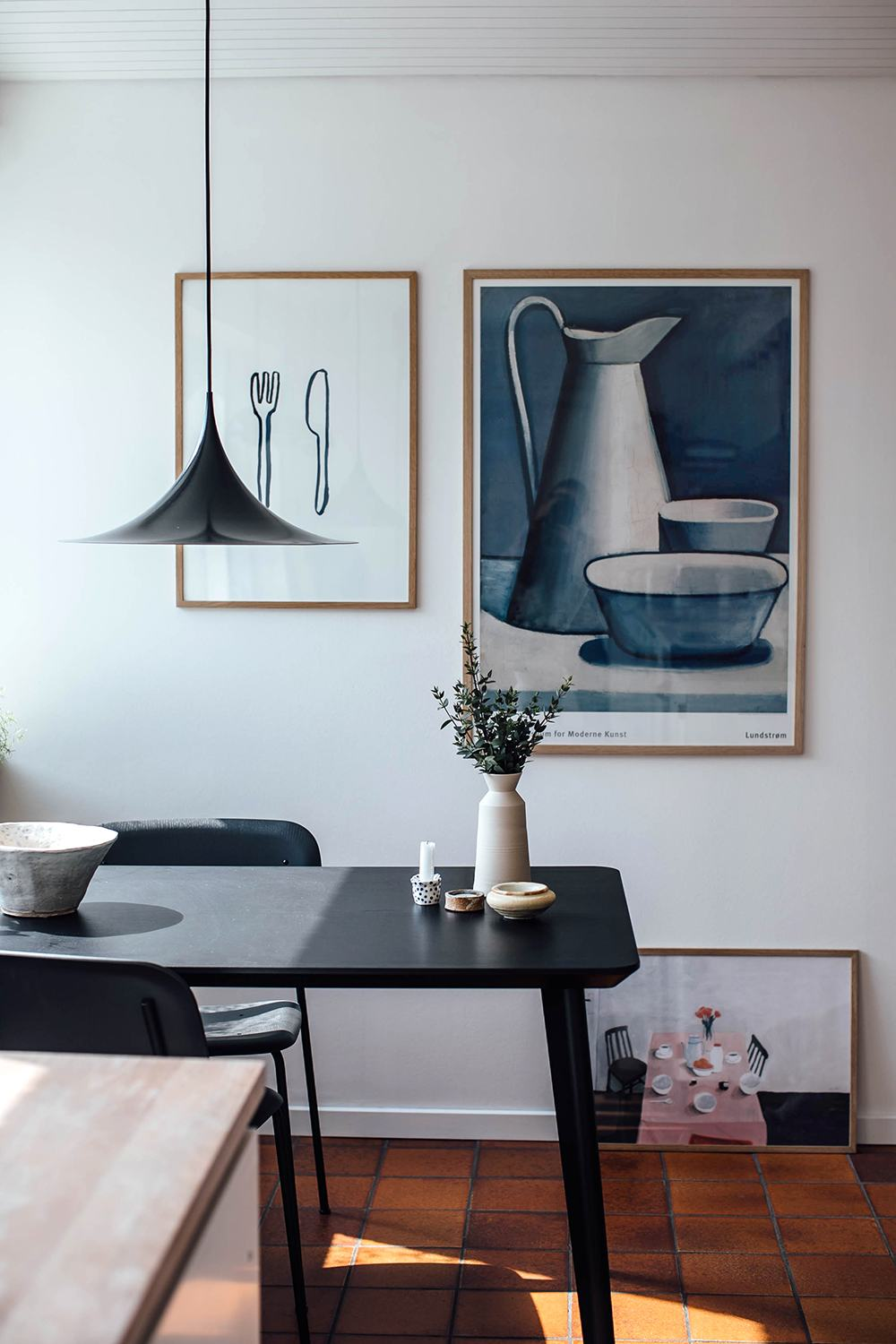 Home Tour with danish artist Silke Bonde