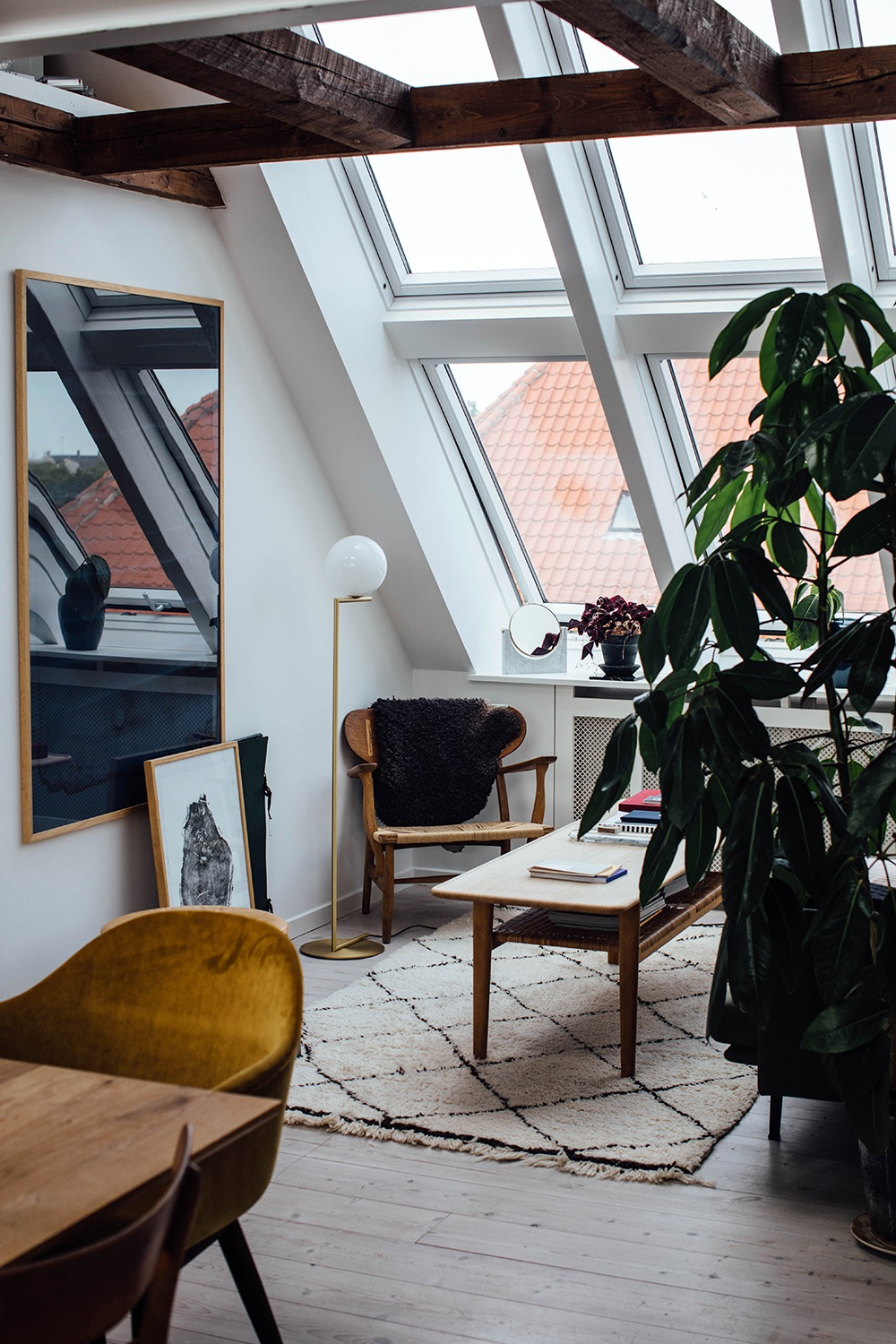 Home Tour with Line Borella in Copenhagen