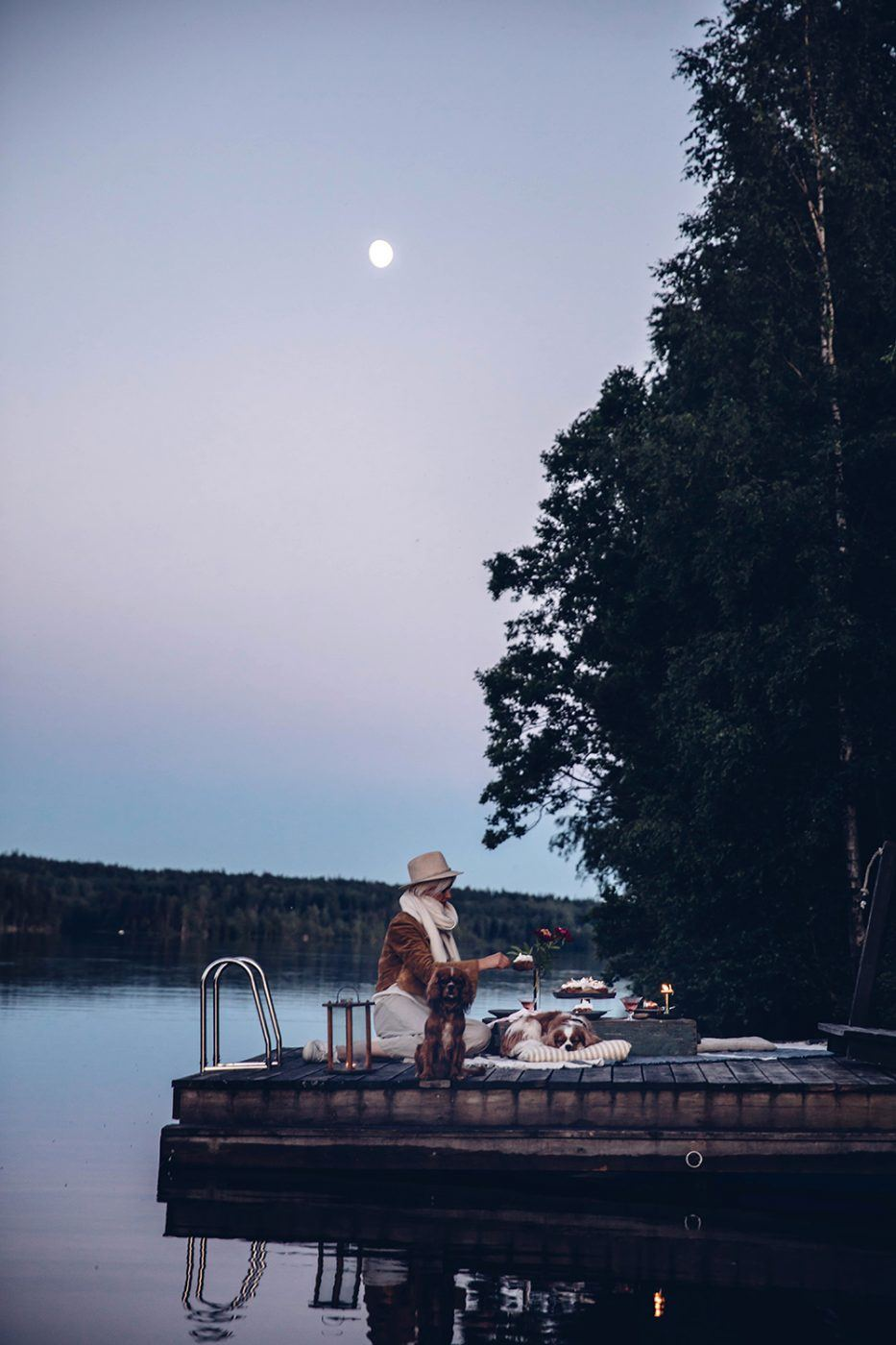 Moon Picnic in Sweden