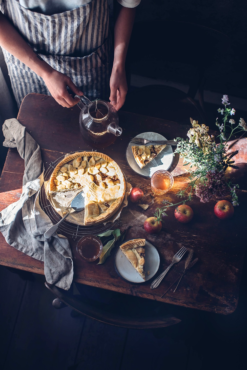 Gluten-free Apple Pie with Cardamom and Ginger