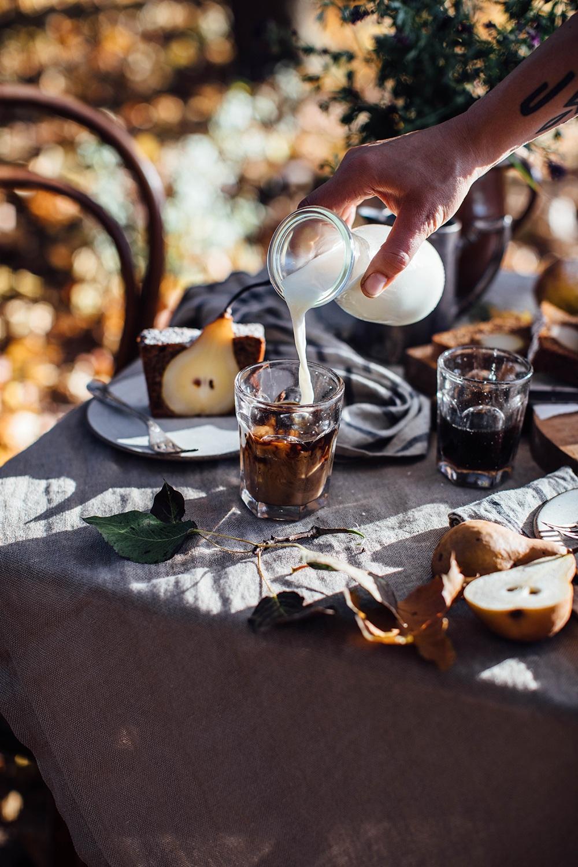 Gluten-free Pear Walnut Cake