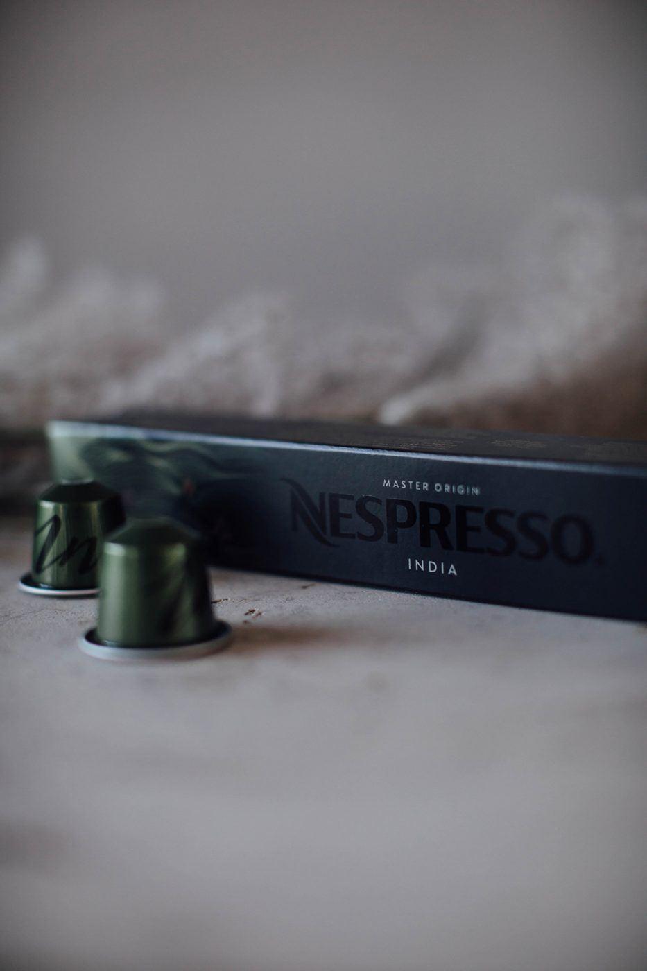 Nespresso Master origin india capsules