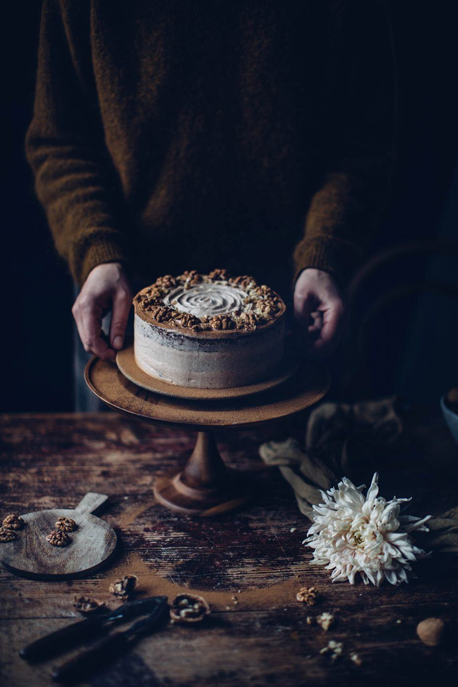 Image for Gluten-free Walnut Cake with Cinnamon – the perfect autumn recipe